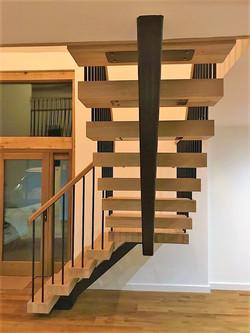 Oak Open Tread Staircase
