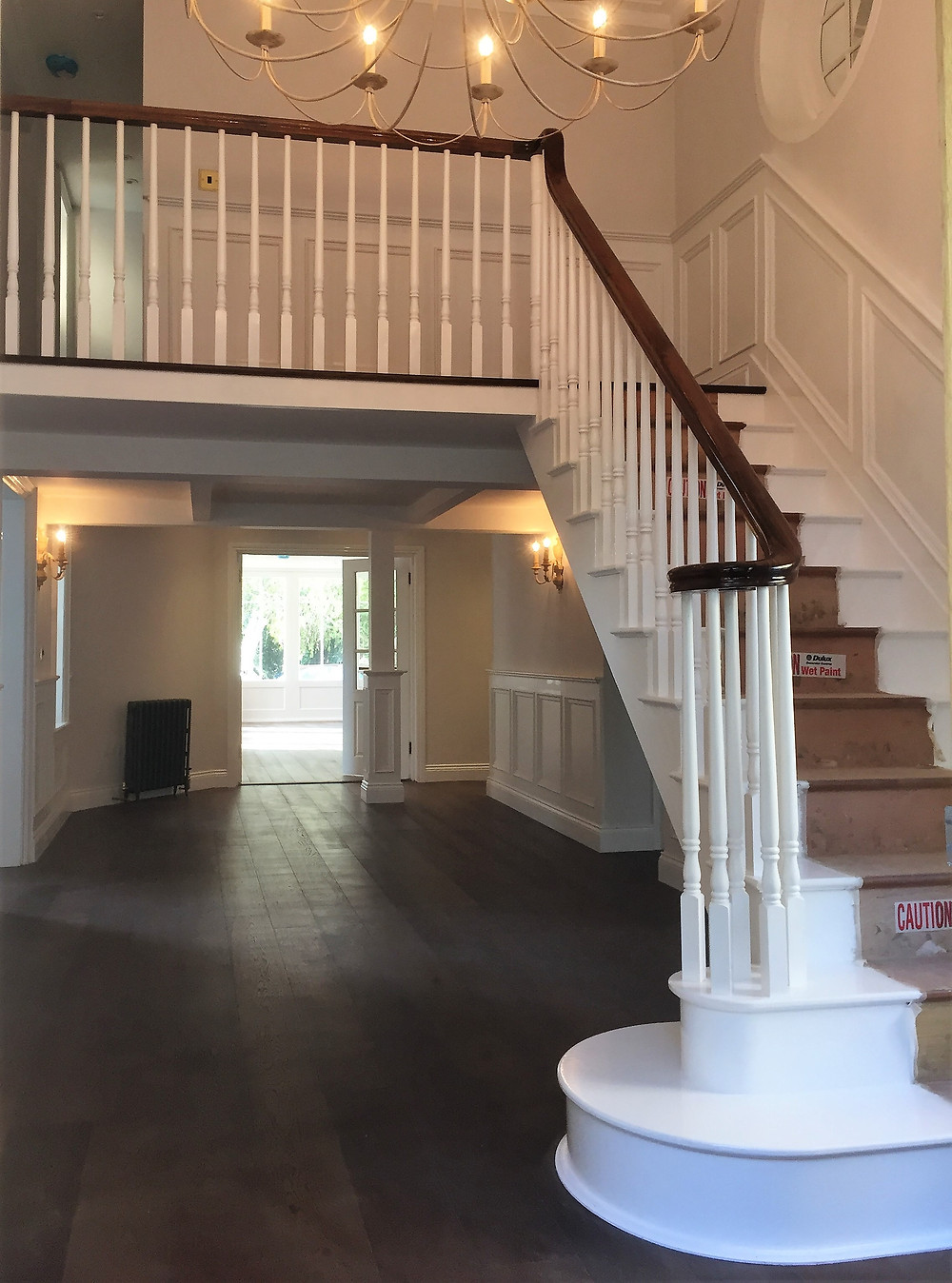 Townhouse: New Period Staircase and Gallery