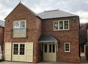New Build Joinery, Coach House Style Property , Warwickshire