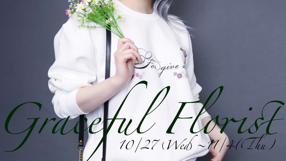 FORGIVE ME 5th Collectionラフォーレ原宿ポップアップショップにて開催!