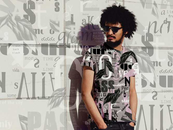MU-graffitti prints for menswear and acc