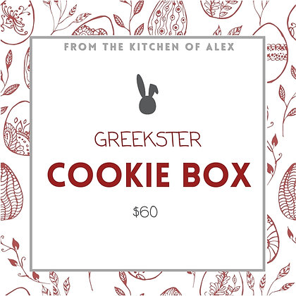GREEKSTER COOKIE BOX