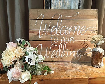 this sign is perfect for welcoming your