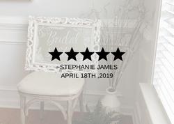 Stephanie James Review