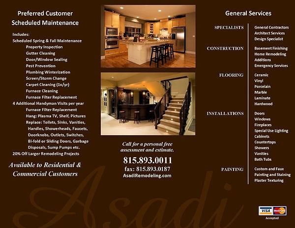 Asadi Remodelig & Repair Brochure B