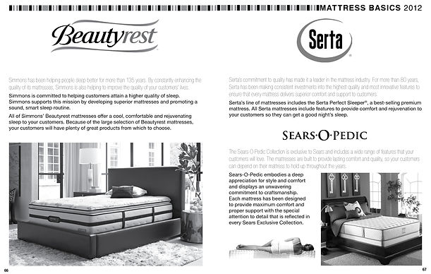 Sears Mattress Basics Training Manual