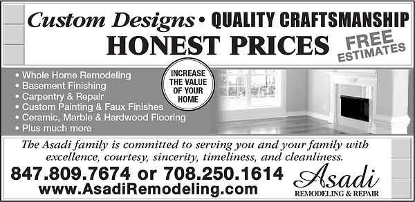 Asadi Remodeling & Repair Yellow Pages Ad B