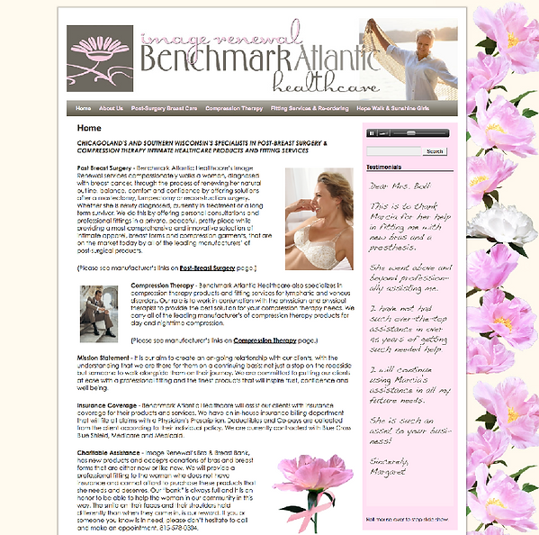 Benchmark Atlantic Healthcare Website