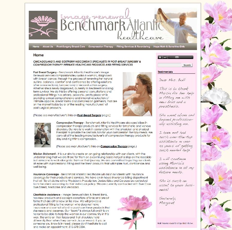 Benchmark Atlantic Website