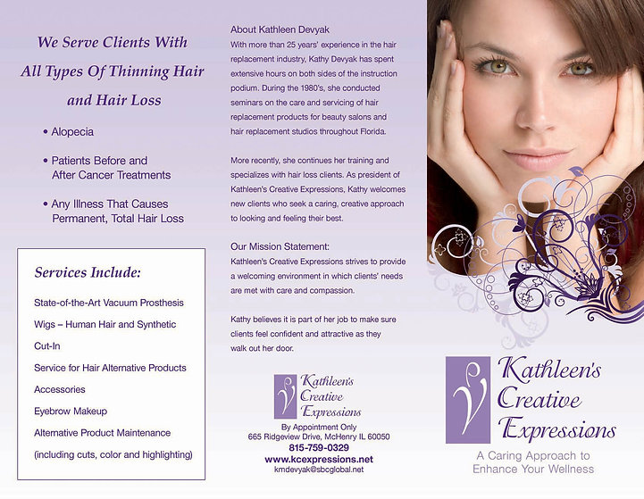 Kathleens Creative Expressions Brochure