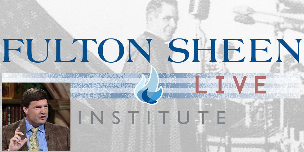 """FSI LIVE with Dr. Anthony Lilles - """"Contemplative Prayer in a Time of Crisis"""""""