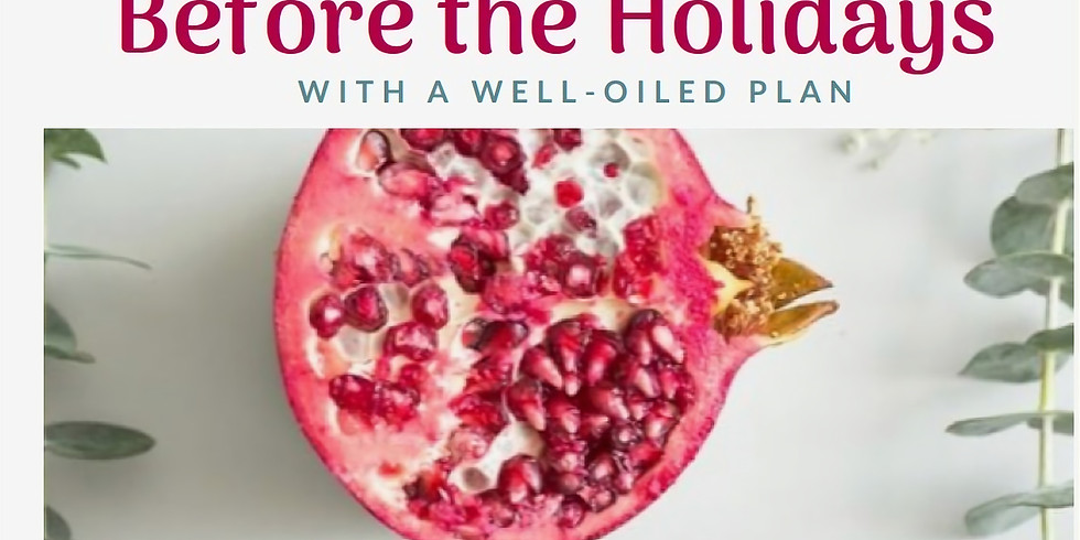 """Free Webinar This Friday - """"Heal Before the Holidays"""""""