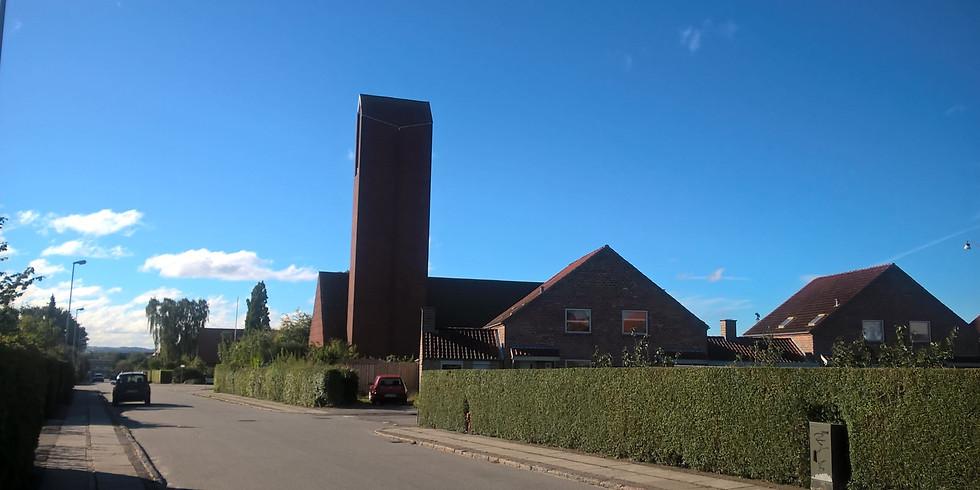 Nyd udsigten fra kirkens top