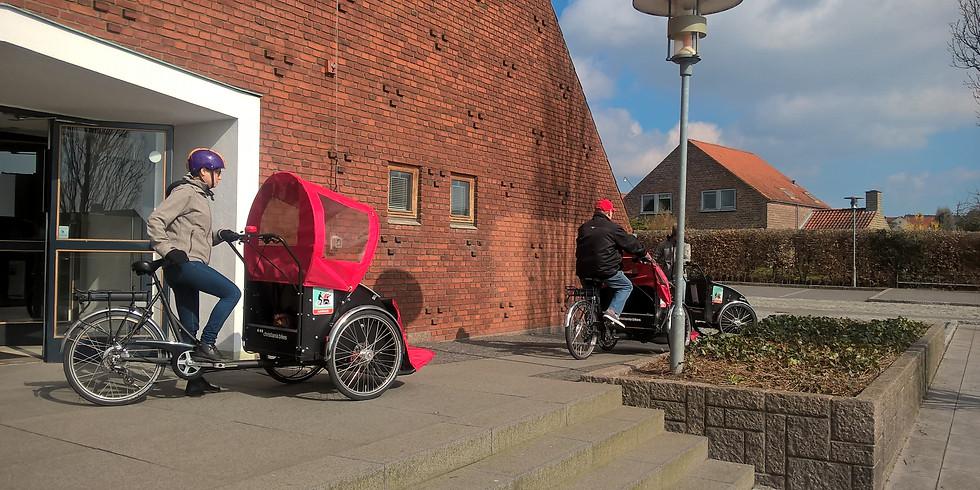 Tag på Rickshaw-tur ud i Christiansbjerg - for ældre!