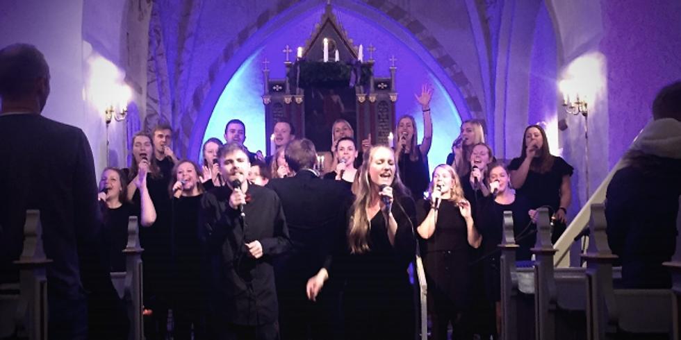 Minikoncert med gospelkoret Mosaik