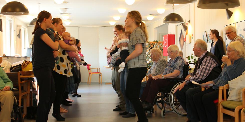 Babysalmesang for babyer og ældre!