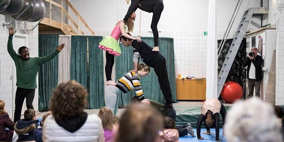 Cirkus i Reginehøj - den Gamle varmehal