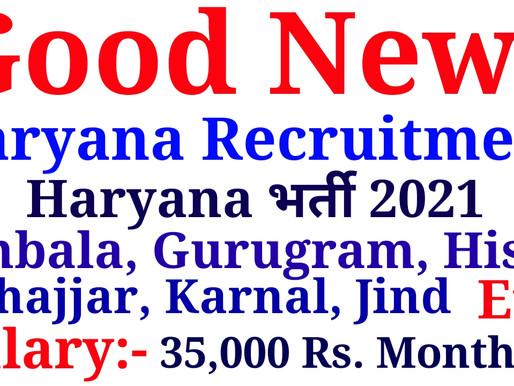 NHM Haryana Recruitment 2021 » Apply MLHP cum CHO 167 Post  Specialnaukri