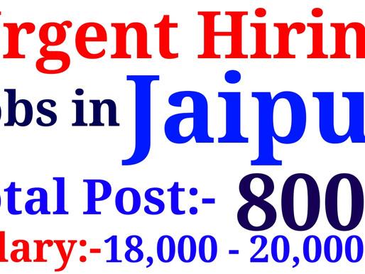Jobs in Jaipur| Sales Jobs in Jaipur| Salary:- 18000 Rs| Private Jobs in jaipur