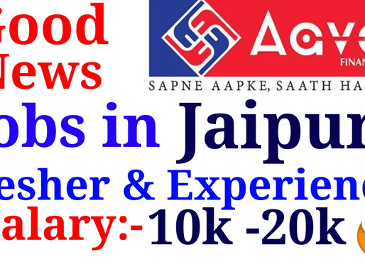 Hiring For Jaipur  Aavas Finance for Home Loan, Lap, Mortgage Msme, Male & Female, Fresher