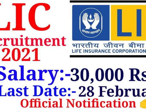LIC Assistant Recruitment 2021 » Apply Online 5000 Posts| Specialnaukri