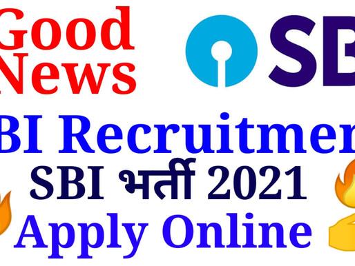SBI Recruitment 2021  SBI Vacancy 2021  Apply Online  Specialnaukri