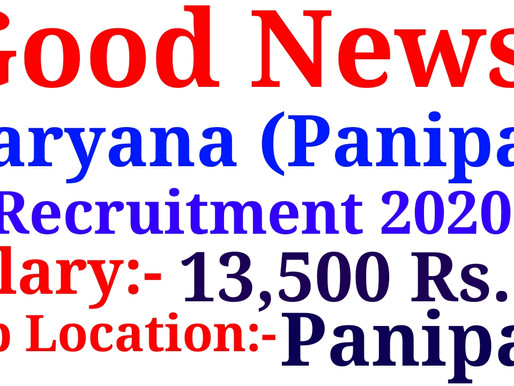 District Health And Family Welfare Society Panipat Recruitment 2020-21  Specialnaukri