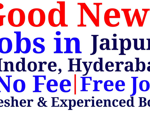 Urgent Hiring for DATA Entry/WORK FROM Home/Fresher/Experience/Computer/PART TIME in Jaipur, Indore