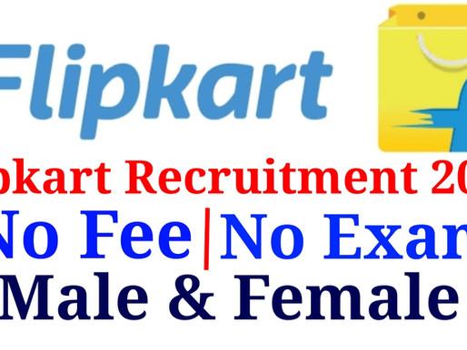 Jobs in Flipkart Company| No fee | No Exam | Male & Female | Specialnaukri