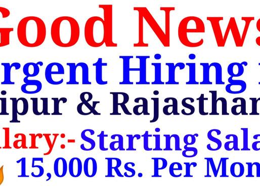 Jobs in Jaipur for Various Posts  Brand Promotion, Advisor, Brand Sponsor, Brand representation,Etc.