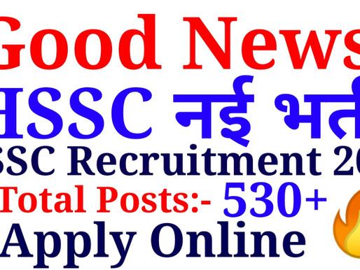HSSC PGT Sanskrit H.E.S.‐II (Group‐B Services)  Apply Online 534 Posts  Specialnaukri