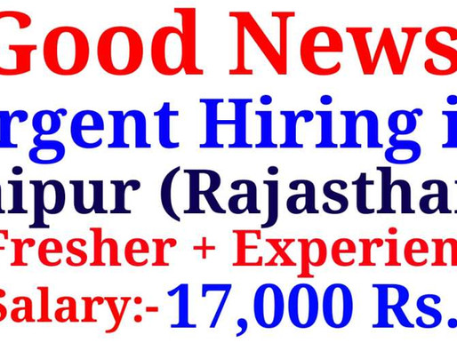 Hiring in Jaipur (Mansarovar) Sales Executive | Fresher and Experienced can apply| Specialnaukri
