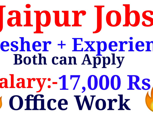 Jobs in Jaipur for Verification (Non-Voice) for fresher & experienced candidates | Specialnaukri