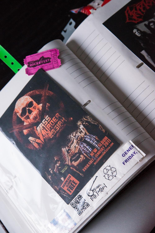 mass murder messiah - Photo made by me - Flyer
