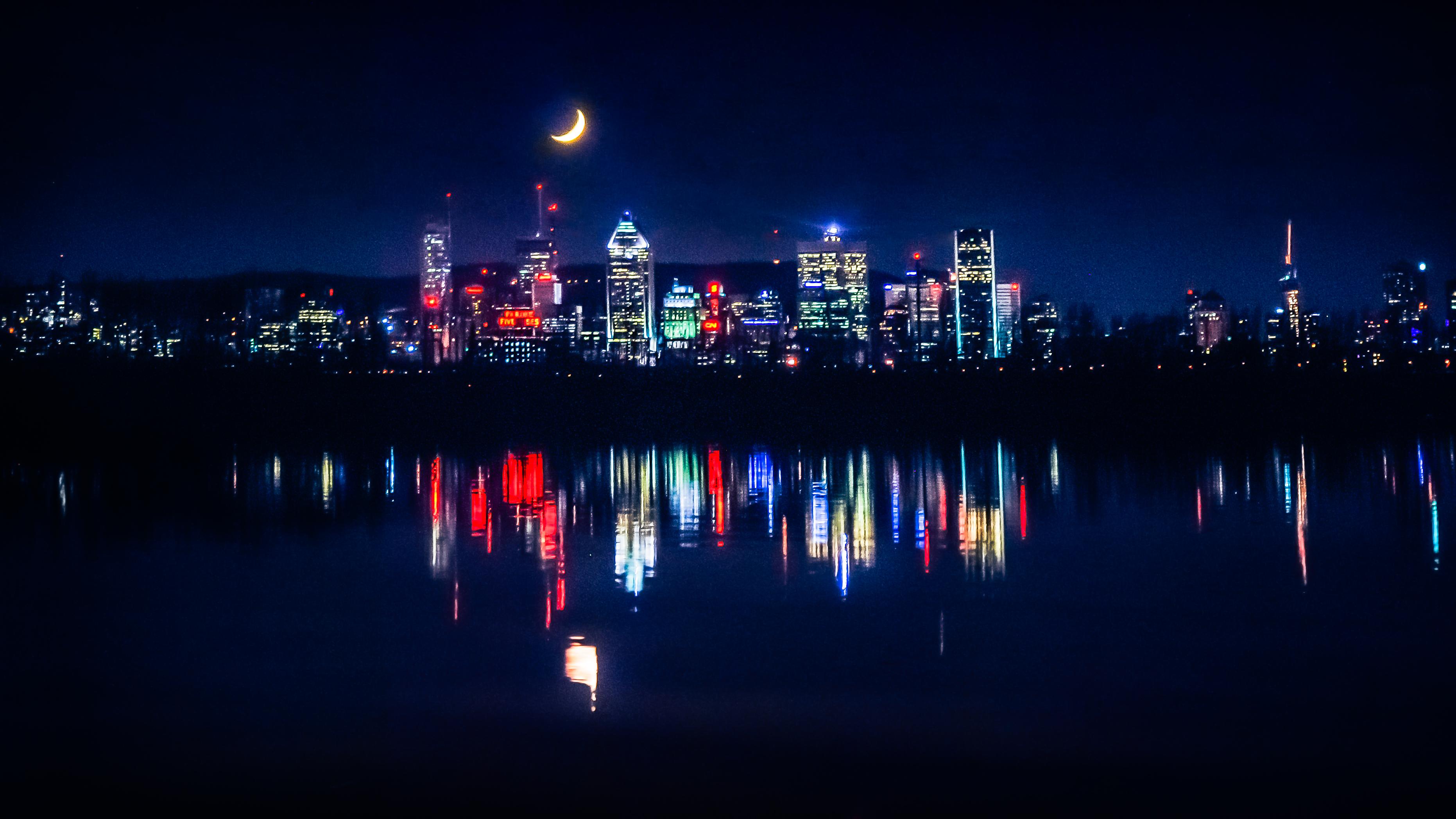 Montréal et la Lune