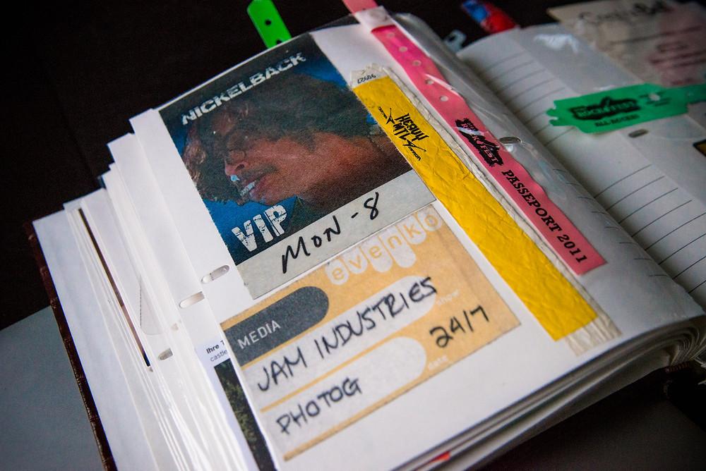 nickelback VIP - jam industries media evenko photog - heavy mtl bracelet and rockfest passeport 2011