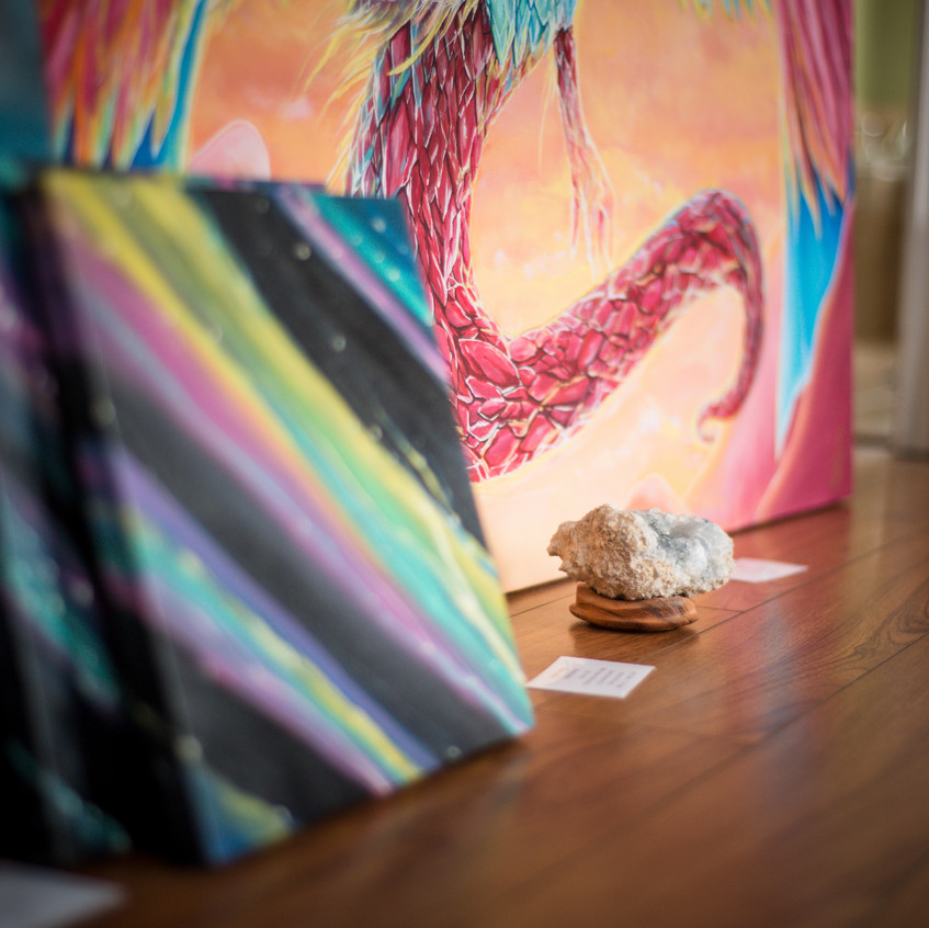 Crystals and Paintings