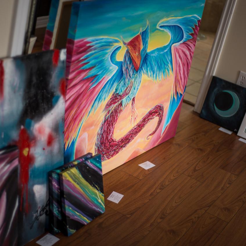 Group of artworks