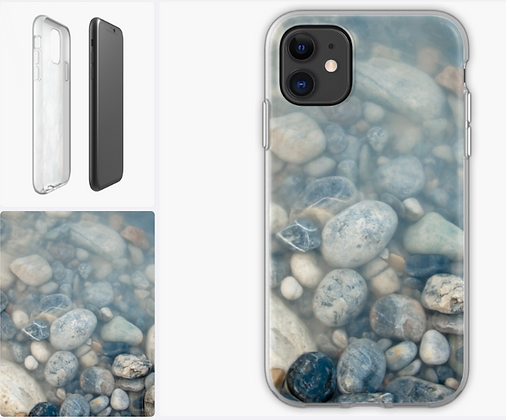 Rocks in Ice Water iPhone Case & Cover