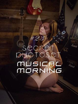 Secret Photoset #23 - Musical Morning (Digital PDF)