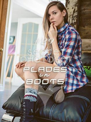 Secret Photoset #29 - Plades in Boots (Digital PDF)