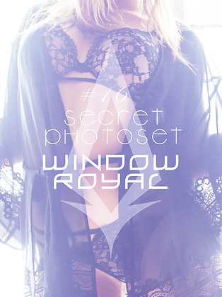 Secret Photoset #16 - Window Royal (Digital PDF)