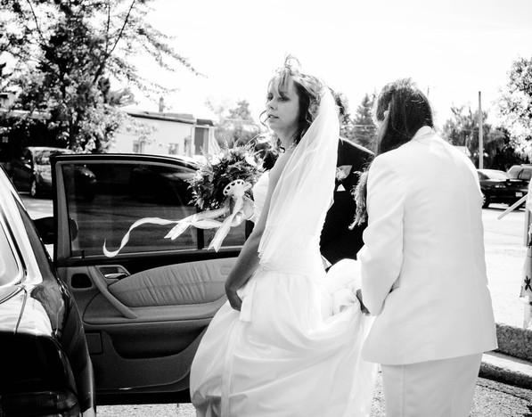 Wedding Black and White