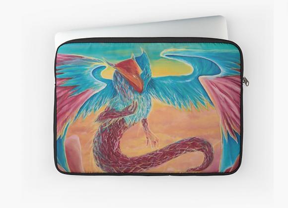 Crystal Dragon Laptop Sleeve