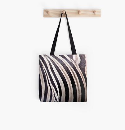 Zebra Tote Bag 33x33cm