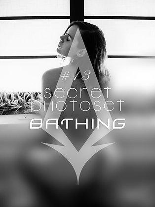 Secret Photoset #13 - Bathing (Digital PDF)