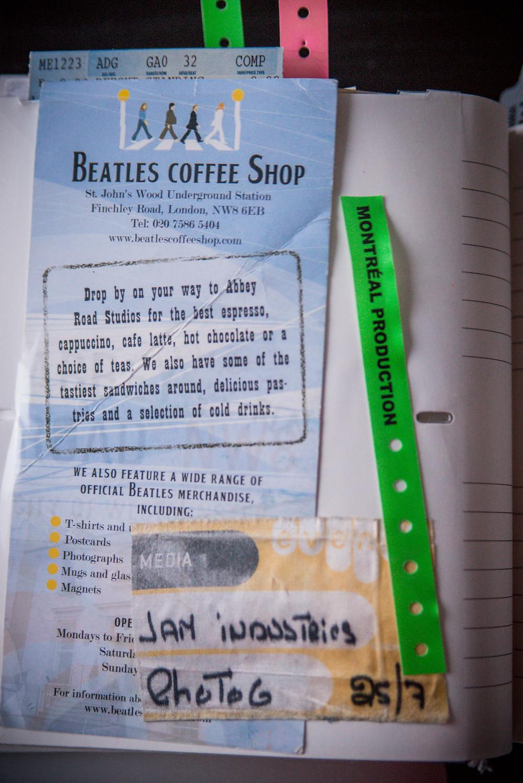 beatles coffee shop London