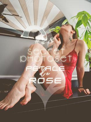 Secret Photoset #28 - Pétale de Rose (Digital PDF)