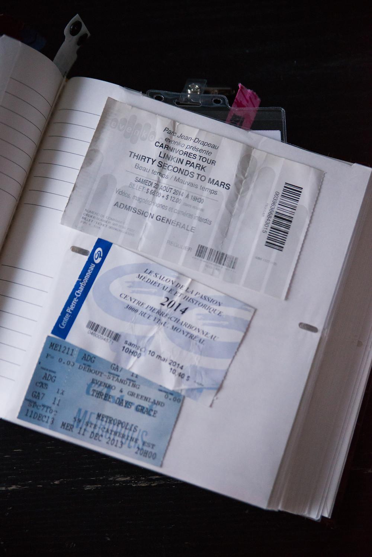 linkin park with thirty seconds to mars carnivores tour 2014 @ park jean-drapeau montreal - Le salon de la passion médiévale et historique - Three Days Grace ticket Metropolis