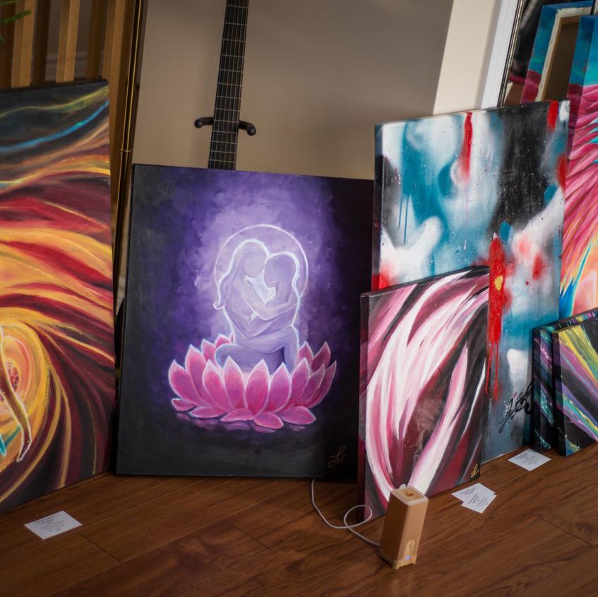 Peintures variés par Lisa Stock